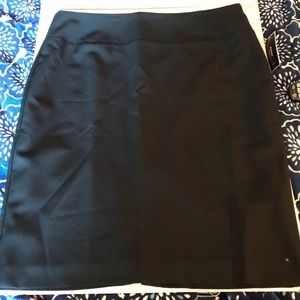 Alfani Black Skirt Size 14w NWT